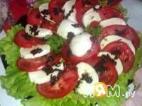 Приготовление салата Капрезе: шаг 4