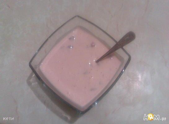 Йогурт домашний с клубникой