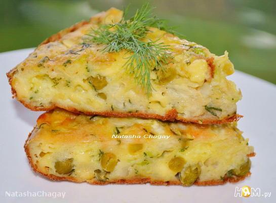 Рецепт Капустно-сырная запеканка