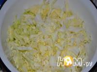 Приготовление капустно-сырной запеканки: шаг 1