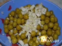 Приготовление капустно-сырной запеканки: шаг 3