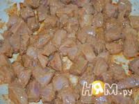 Приготовление мясного рагу с овощами: шаг 1