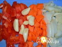 Приготовление мясного рагу с овощами: шаг 2