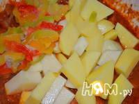 Приготовление мясного рагу с овощами: шаг 6