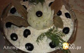 Белый рыбный салат по-польски