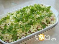 Приготовление филе индейки под шапкой: шаг 5