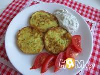 Приготовление оладий из кабачков: шаг 6