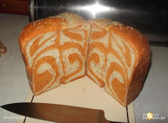 """Хлеб из пшеничной муки """" Рыжая завитушка """""""
