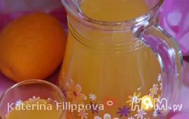 Апельсиново-грейпфрутовый напиток