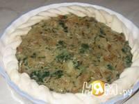 Приготовление пирога с капустой и шпинатом: шаг 3