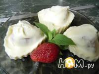 Приготовление конфет клубника в белом шоколаде: шаг 7