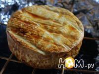 Приготовление копченого сыра Камамбер: шаг 6