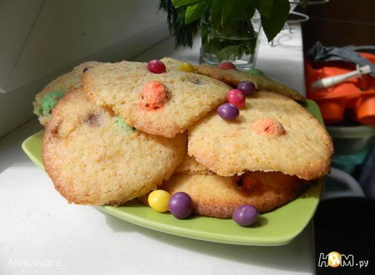 """Конфетное печенье """"MМ's"""""""