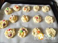 Приготовление конфетного печенья MМ's: шаг 6