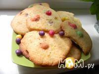 Приготовление конфетного печенья MМ's: шаг 7