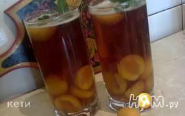 Холодный чай с абрикосом