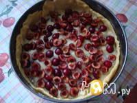 Приготовление баскского пирога с черешней: шаг 11