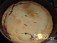 Приготовление баскского пирога с черешней: шаг 13