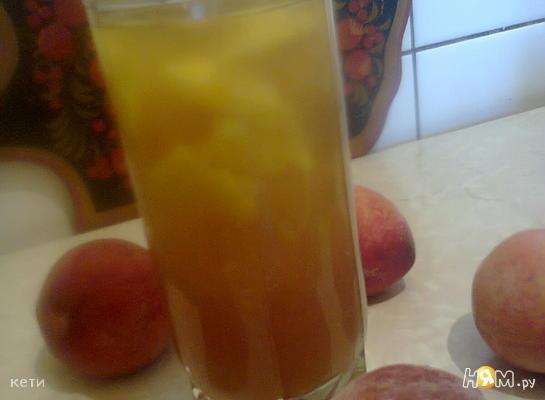 Рецепт Холодный чай с персиком