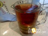 Приготовление холодного чая с персиком: шаг 2