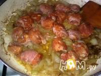 Приготовление бабки с колбасой по-домашнему: шаг 6