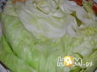 Приготовление голубцов с мясом, рисом и грибами: шаг 2