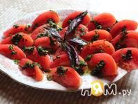 Приготовление помидор по-бакински: шаг 5