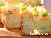 Приготовление кабачкового пирога-запеканки: шаг 8