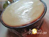 Приготовление творожно-малинового торта: шаг 15