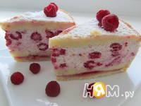 Приготовление творожно-малинового торта: шаг 17