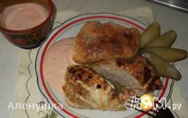 Голубцы с мясом,запеченные в духовке