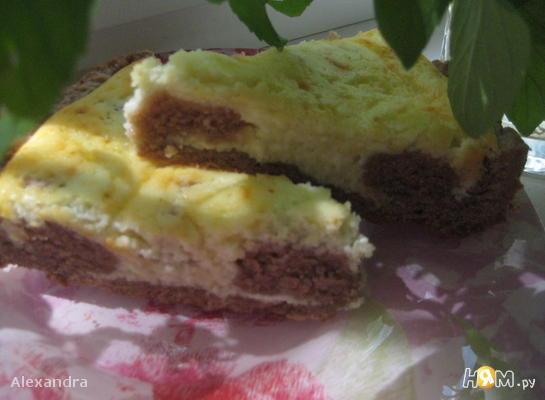 Творожный пирог Бурёнка