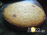 Приготовление творожного пирога Бурёнка: шаг 7