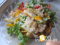 Приготовление салата восточного: шаг 4