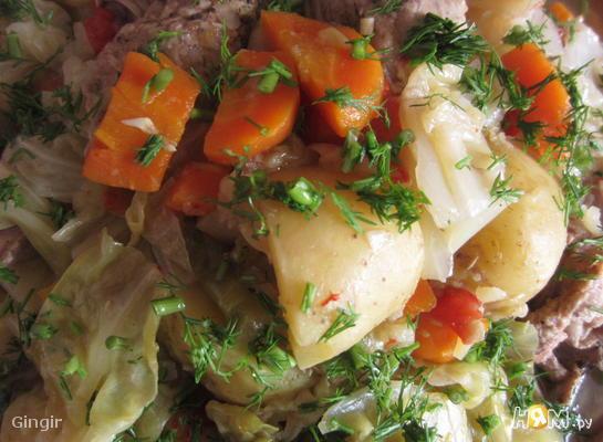 Рецепт Басма узбекская кухня