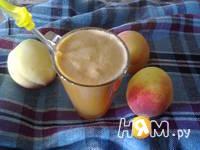 Приготовление персиково-изюмного морса: шаг 5