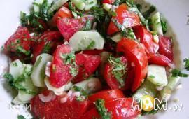 """Салат овощной в стиле """"Кантри"""""""