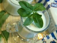 Приготовление мятного молока: шаг 4