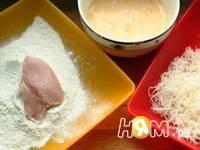 Приготовление куриных наггетс по-домашнему: шаг 7