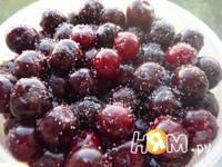 Приготовление замороженной вишни: шаг 2
