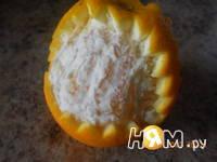 Приготовление пикантного салата с апельсином: шаг 1