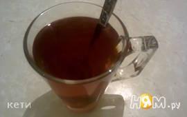 Мятный чай с малиной