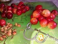 Приготовление соуса из черешни: шаг 2