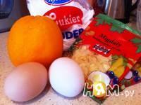 Приготовление апельсиновых флорентинов: шаг 1