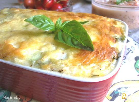 Рецепт Мусака с кабачком (цуккини) и помидорами