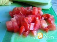 Приготовление мусаки с кабачком (цуккини) и помидорами: шаг 2