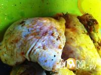 Приготовление курицы с медом и аджикой: шаг 3
