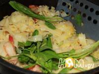 Приготовление флорентийской пасты с креветками: шаг 7