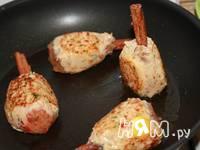 Приготовление куриных котлет на палочках корицы: шаг 5