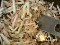 Приготовление икры баклажанной: шаг 4